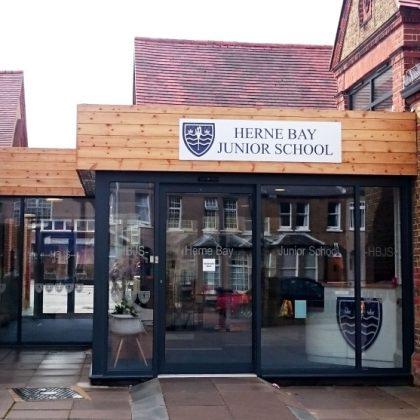 New Entrance, Herne Bay Junior School