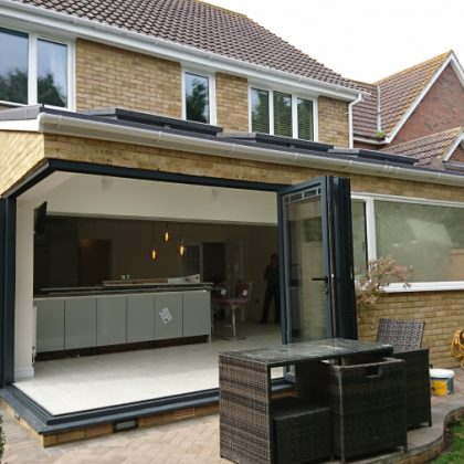 Open plan rear extension in Whitstable