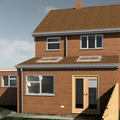 House extension, Tyler Hill