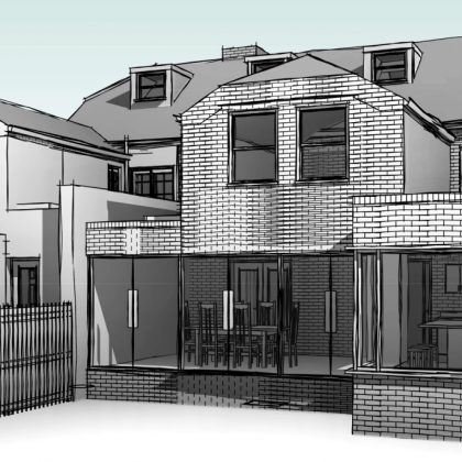 House extensions, Middle Wall, Whitstable